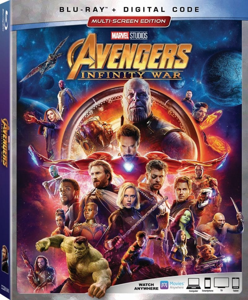 Avengers: Infinity War Is Out On DVD And Blu-ray Today With Must See Bonus Features
