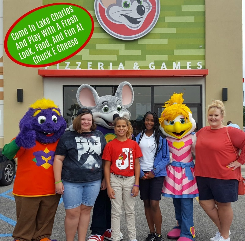 Come To Lake Charles And Play With A Fresh Look, Food, And Fun At Chuck E Cheese
