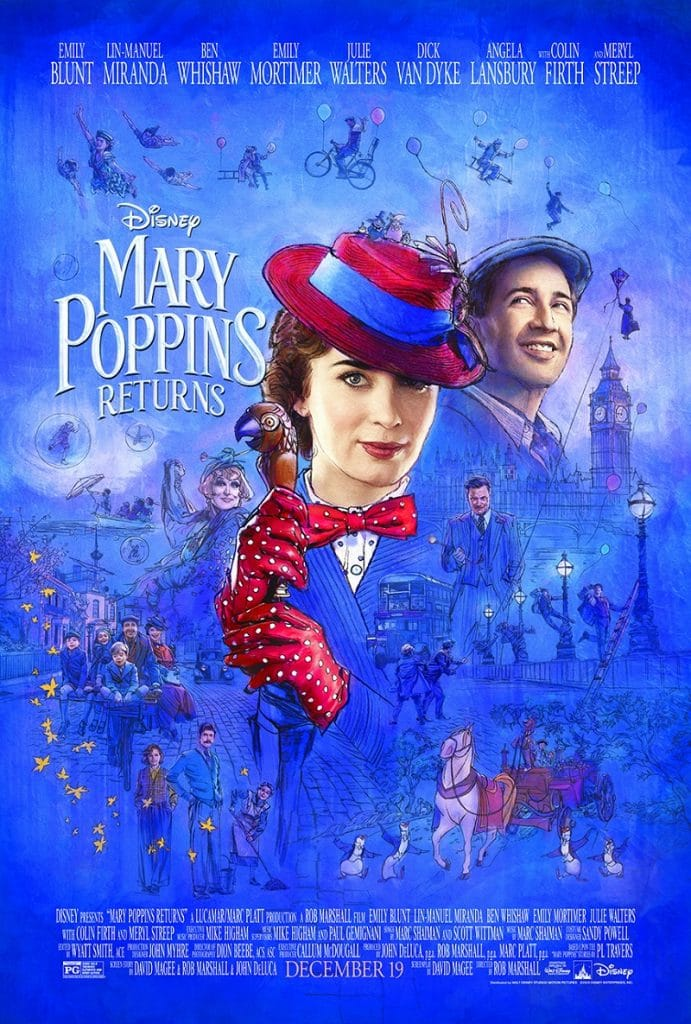 The New Trailer And Poster For Mary Poppins Returns Are Practically Perfect In Every Way