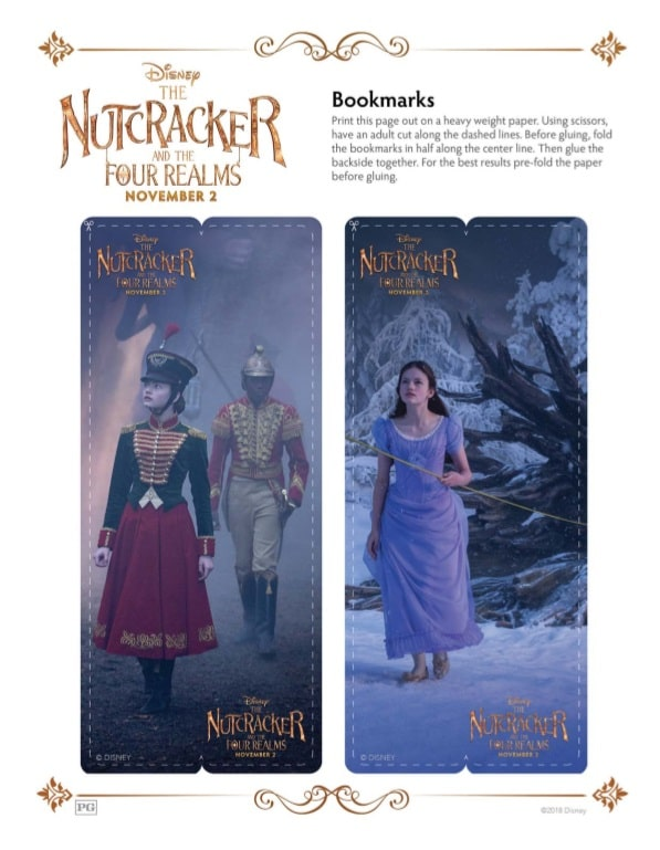Free Printable Coloring Pages For The Nutcracker And The Four Realms