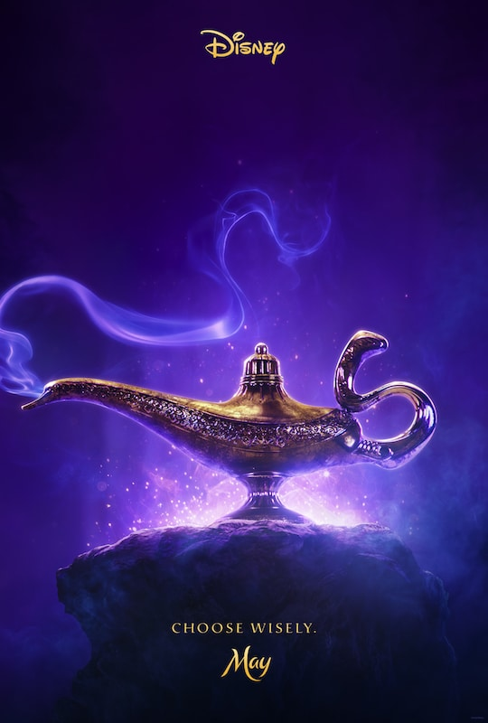 The New Teaser Trailer and Poster Disney's Aladdin Are Everything