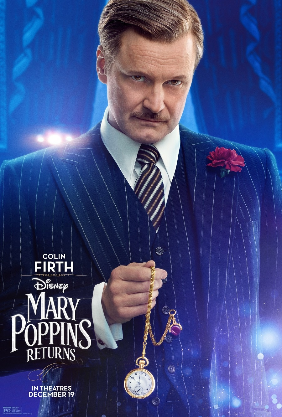 Here They Are! New Character Posters And A New Sneak Peek From Mary Poppins Returns