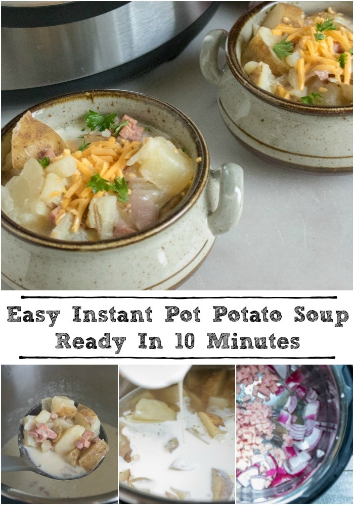 Easy Instant Pot Potato Soup Ready In 10 Minutes