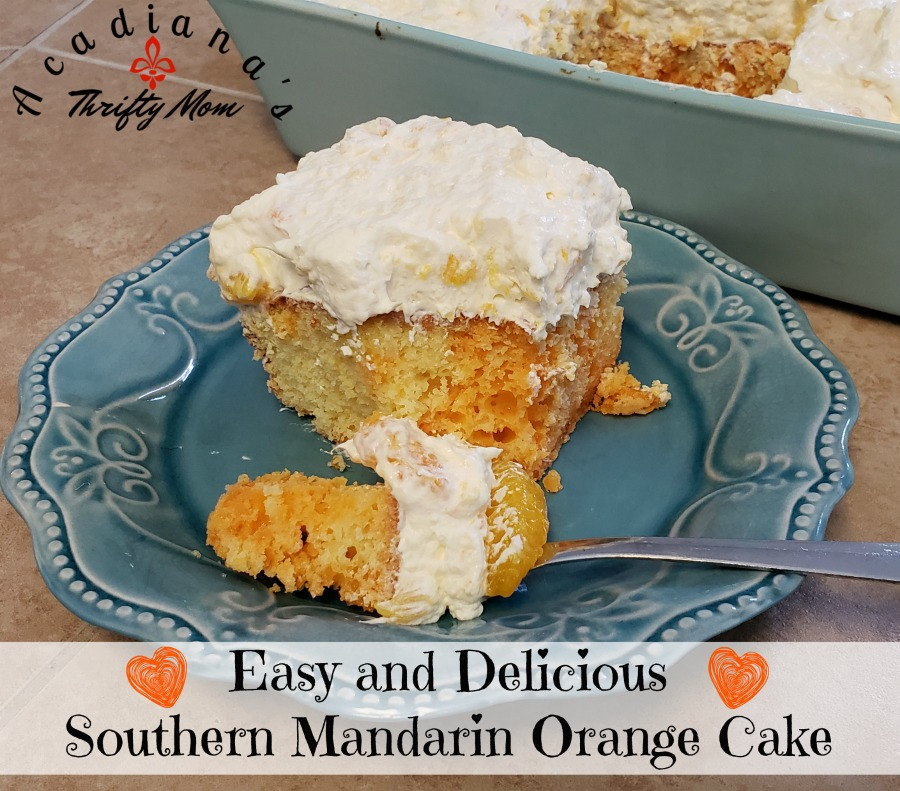 Easy and Delicious Southern Mandarin Orange Cake