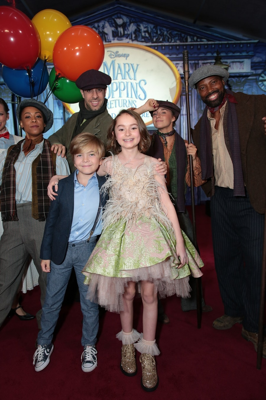 Find Out What The Adorable Pixie Davies and Joel Dawson Think About Their Roles In Mary Poppins Returns