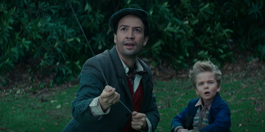 Lin-Manuel Miranda Takes On The Role Of Jack In Mary Poppins Returns