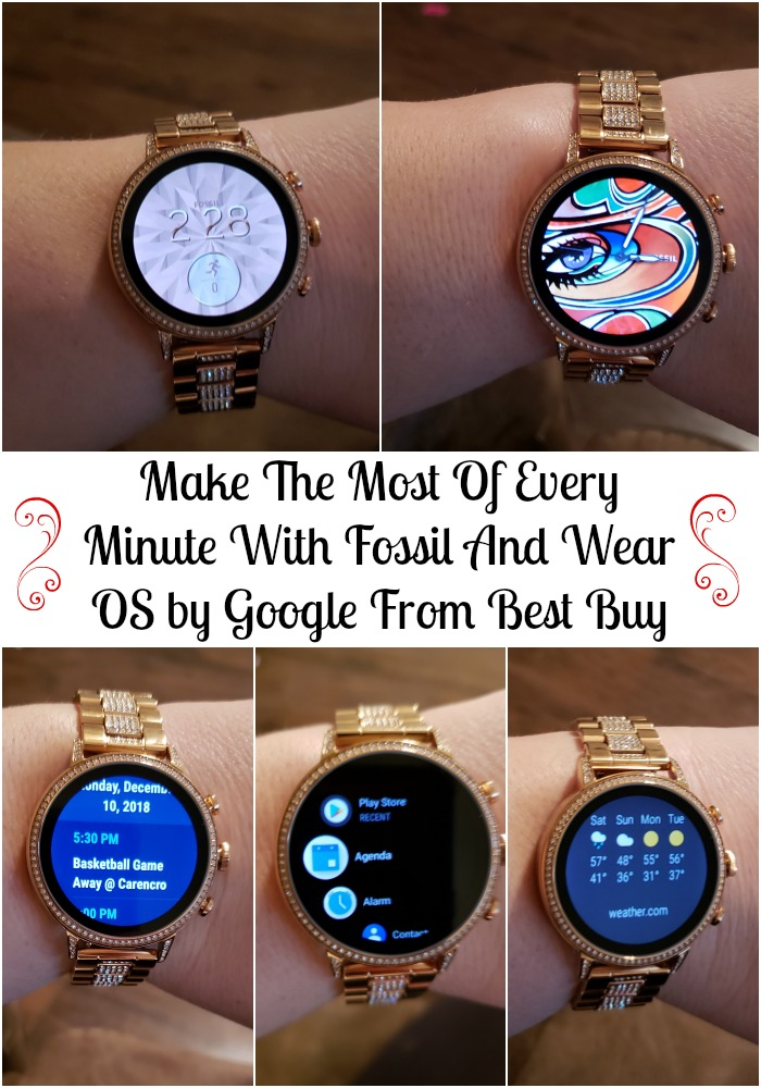 Make The Most Of Every Minute With Fossil And Wear OS by Google From Best Buy
