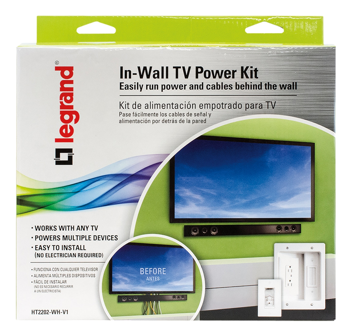 I Am In Love With Everything About The Legrand Wall Tv Power Kit Mount Wiring Accessories From