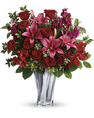 Love Out Loud And Send A Stunning Teleflora Valentine's Bouquet This Year