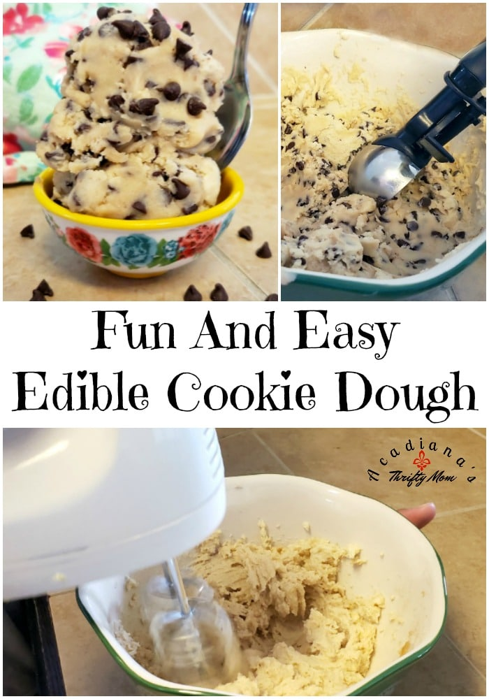Fun And Easy Edible Cookie Dough