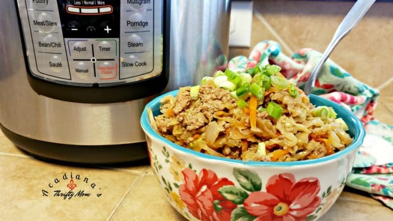 Delicious Instant Pot Egg Roll Bowls In Under 20 Minutes