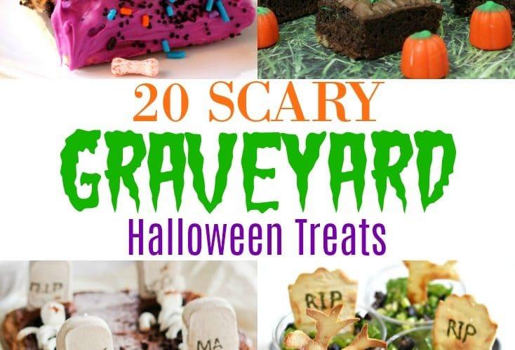 20 Scary Graveyard Halloween Treats