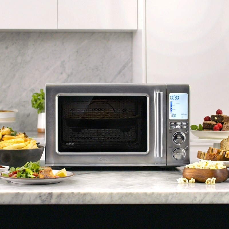 The New! Breville Combi Wave 3-in-1 Microwave is Now Available At Best Buy