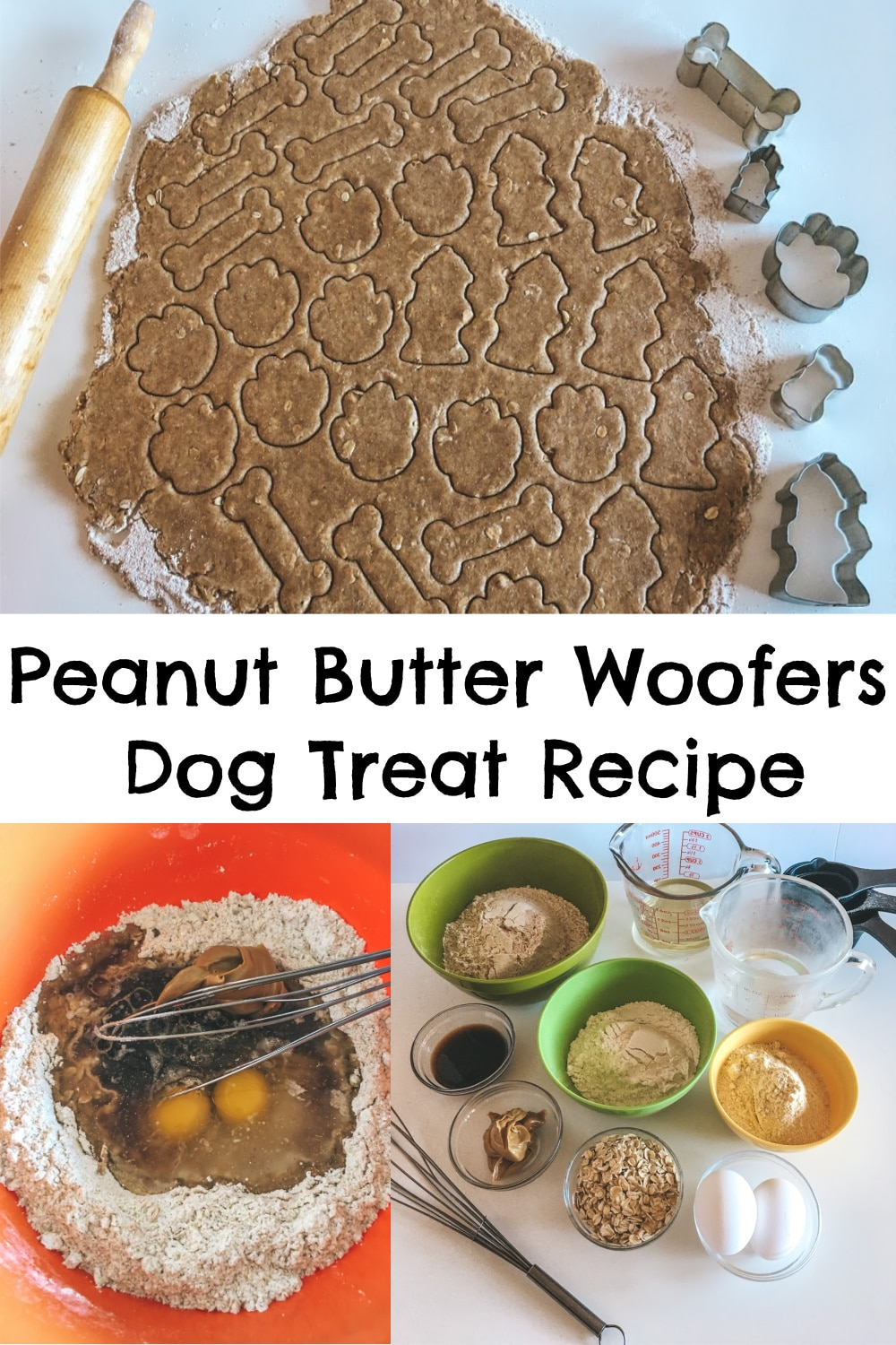 Peanut Butter Woofers Dog Treat Recipe