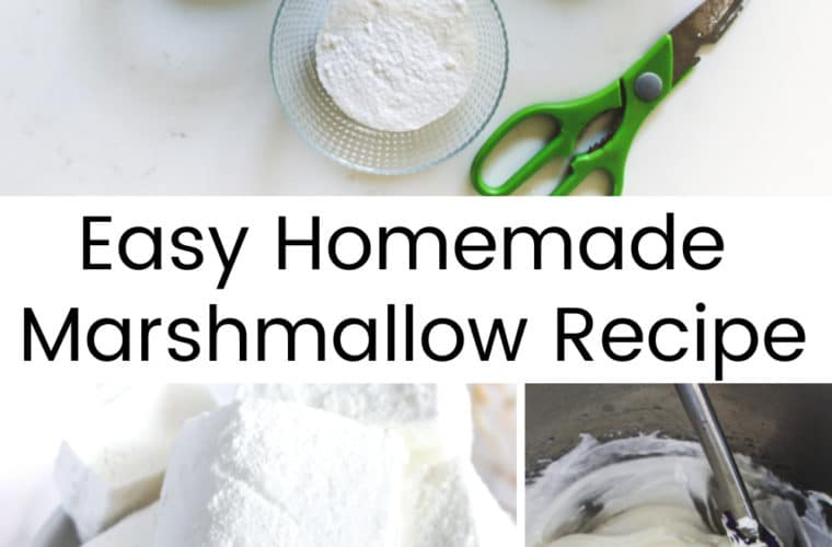 Easy Homemade Marshmallow Recipe