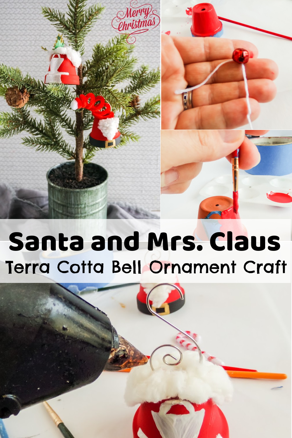 Terra Cotta Bell Ornament Craft