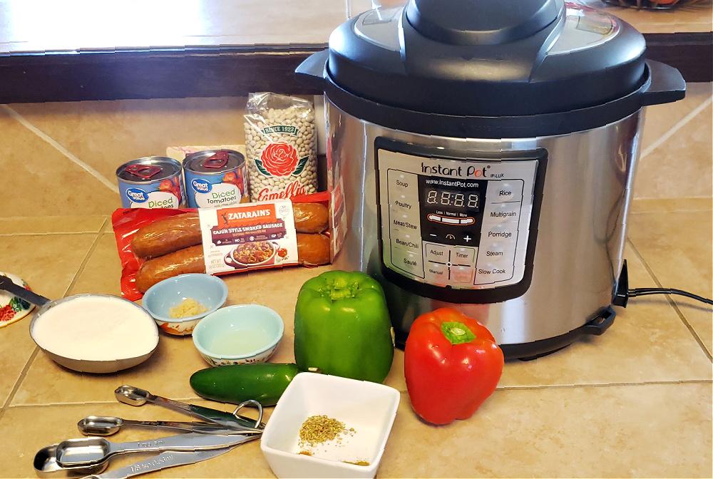 Easy Cajun White Chili In Your Instant Pot